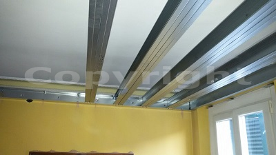 rumore soffitto piano superiore