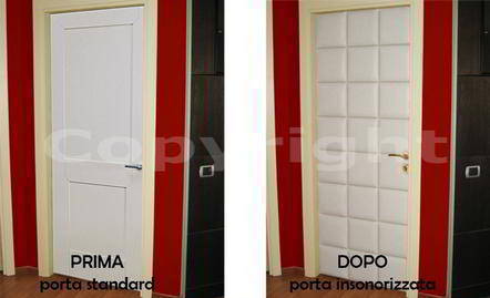 Sorgedil isolamento acustico e insonorizzazione porta - Insonorizzare una stanza dai rumori esterni ...