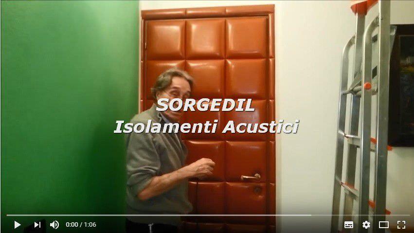 Soluzioni isolamento acustico e insonorizzazione porta isolamento